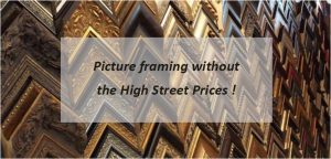 picture framing, North London