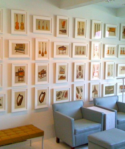 picture framing galery, London